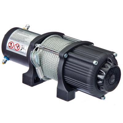 Лебедка электрическая 4000lb (1818кг), трос 5.5мм/12.2 метров, 12V