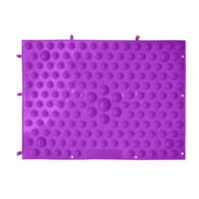 192-014 Массажер-коврик, ПВХ, 39х28 см, SILAPRO