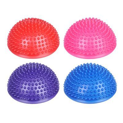 192-020 Мяч массажный, ПВХ, 16,5 см, 4 цвета, SILAPRO