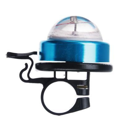 195-053 SILAPRO Звонок велосипедный ударный с компасом, пластик, металл