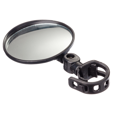 195-059 SILAPRO Зеркало с креплением на руль круглое, d8см, стекло, пластик