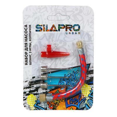 195-063 Набор шланг для насоса, 3 иглы, 1 колпачок, SILAPRO