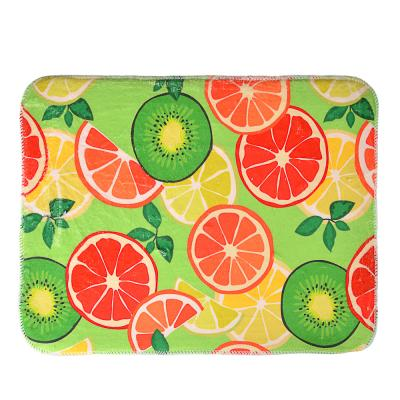 485-076 VETTA Коврик для сушки посуды микрофибра, 0,9см, 40x30см, 7 цветов