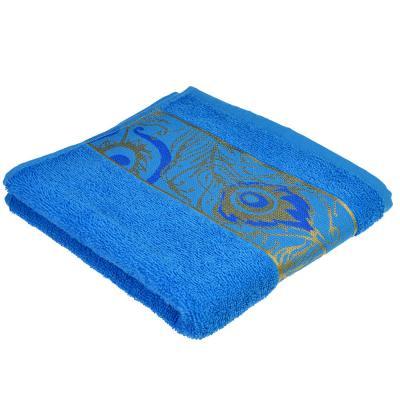 489-074 Полотенце для лица махровое, хлопок, 50x80см, 3 цвета