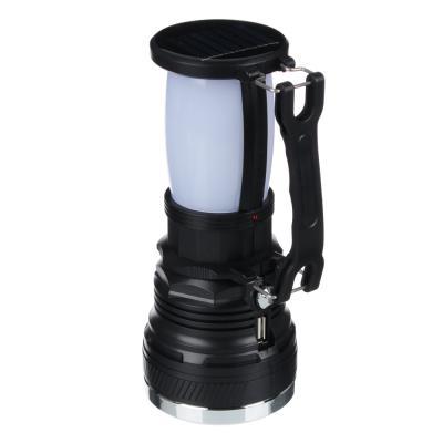 198-091 ЧИНГИСХАН Фонарь прожектор 2-в-1 аккумуляторный 24 SMD + 1 Вт LED, шнур 220В, пластик, 17,5x7,5 см