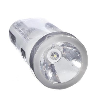 198-092 ЧИНГИСХАН Фонарь 2-в-1 2(8)+0,5 Вт LED, 3xAA, пластик, 14,5x5,5 см