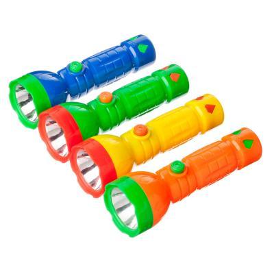 198-096 ЧИНГИСХАН Фонарик мини 1 LED, 1xAA, пластик, 12х4 см