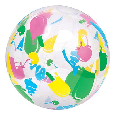 107-165 BESTWAY Мяч надувной дизайнерский, ПВХ, 41см, 31000