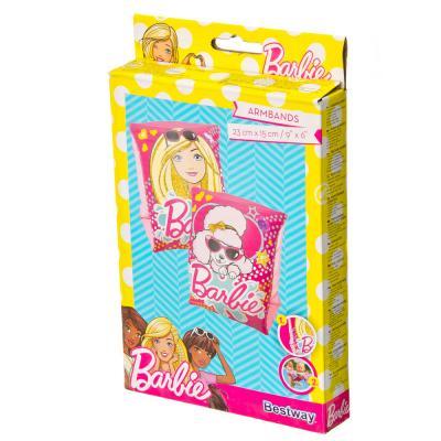 107-232 BESTWAY Нарукавники для плавания, ПВХ, 23х15см, Barbie, 93203