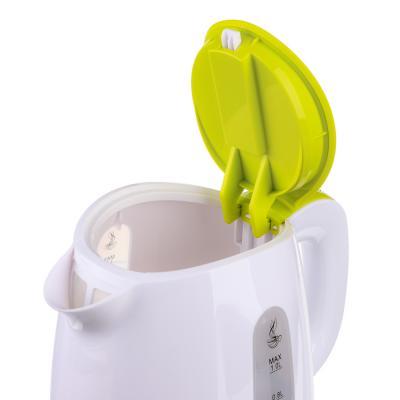 291-012 LEBEN Чайник электрический 1,0л, 900Вт, скрытый нагр.элемент, пластик, подсветка, 1