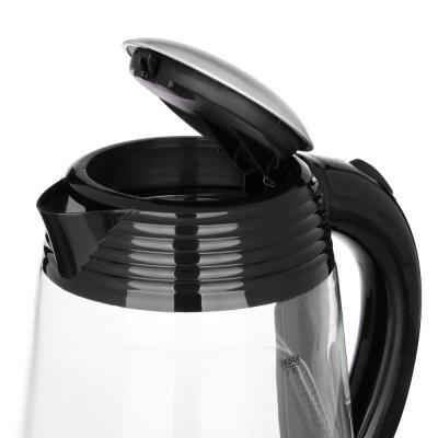 291-013 LEBEN Чайник электрический 1,7л, 1850Вт, скрытый нагр.элемент, нерж сталь,1