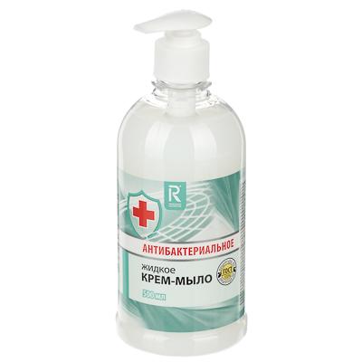 952-062 Крем-мыло жидкое AURA антибактериальное, 500мл КК/8 07378/2629