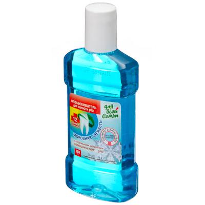 983-007 Ополаскиватель для полости рта Для всей семьи Комплексный уход Морозная свежесть п/б 350мл 2432/2767