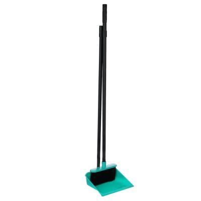 "445-366 Набор для уборки: щётка с ручкой, совок, пластик, 79х19х17 см, 2 цвета, VETTA ""Практик"""