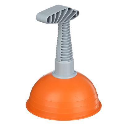 463-786 VETTA Вантуз оранжевый, 14х14х18см, пластик, резина