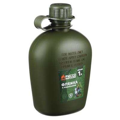 123-021 Фляжка ЧИНГИСХАН пластиковая, полипропилен, 1л
