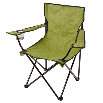 760-015 ЕРМАК Кресло складное, 50x50x80см, зеленый