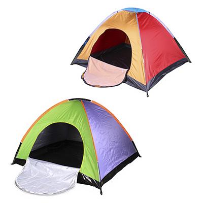 122-043 ЧИНГИСХАН Палатка 3-4 местная, однослойная, 2х1,8х1,35м, полиэстер 170Т, дно оксфорд 210D