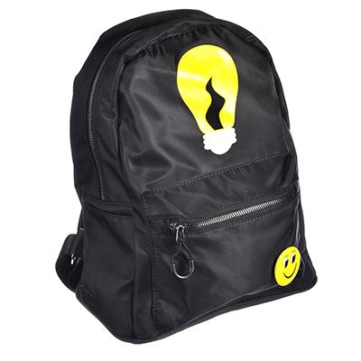 325-136 Рюкзак молодежный, 29,5х26х13 см, полиэстер, ПУ, 2 дизайна
