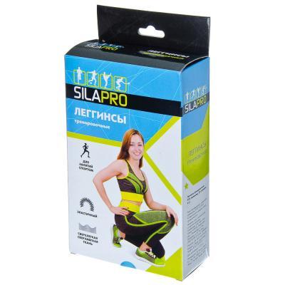 184-027 SILAPRO Леггинсы тренировочные, 92% полиэстер, 8% спандекс, S, M размер, #11