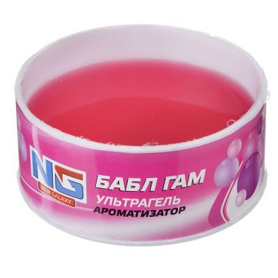 """794-469 Ароматизатор в машину гелевый, аромат бабл гам, """"Ультрагель"""" NEW GALAXY"""