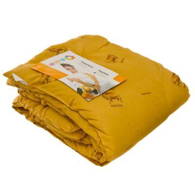 427-011 Одеяло Овечья шерсть, стеганое, утепленное, полиэстер, 172х205см