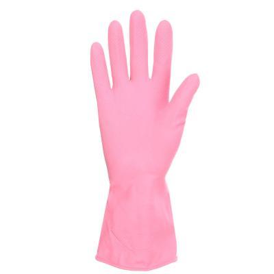 447-037 VETTA Перчатки резиновые прочные с запахом лаванды M