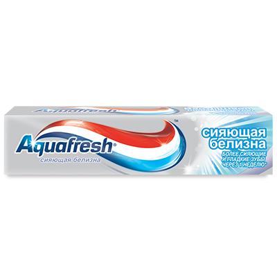 981-033 Зубная паста Аквафреш Сияющая белизна 100мл