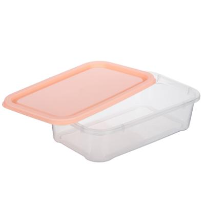 893-110 Набор контейнеров 3шт (17,5x11,5x7 см), пластик, 3 цвета