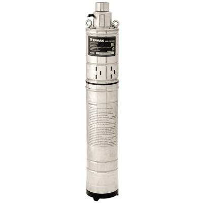 652-008 ЕРМАК Насос скважинный погружной. НСП-370/1,2-50, 370Вт, 1,2м3/ч, подъем 50м, погруж 15 м