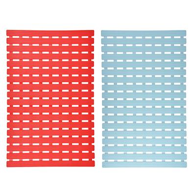 403-076 VETTA Коврик противоскользящий, пластик, 40х63,5см, 3 цвета