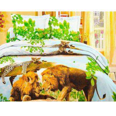 """421-140 Комплект постельного белья 1,5 спальный, полипоплин жатка, """"Бояртекс"""""""