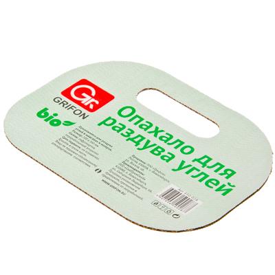 101-027 GRIFON Опахало для костра Light, картон, 22x16см, 650-028