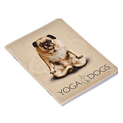 """524-179 Записная книжка А6 32л в клетку, офсет, обл. мел. картон, твин УФ лак, скрепка, """"Cats&Dogs"""", YD66/2"""