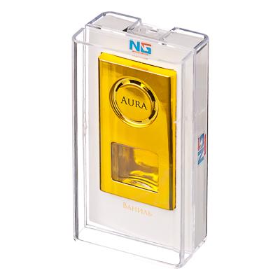 """794-496 Ароматизатор для автомобиля на дефлектор, аромат ваниль, """"Аура"""""""