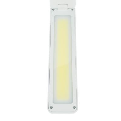 198-105 Фонарь - лампа складной 20 ярк. LED, 3xAA / шнур 220В, пластик, 9,5х26х14см