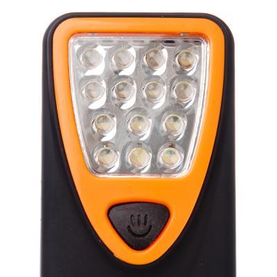 198-108 ЧИНГИСХАН Фонарь подвесной 14 LED, 3хААА, пластик, 11х6 см