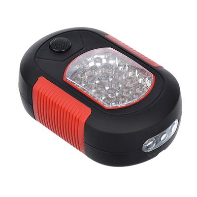 198-111 ЧИНГИСХАН Фонарь подвесной 24+3 LED, 3хААА, пластик, 9,2х6,5 см
