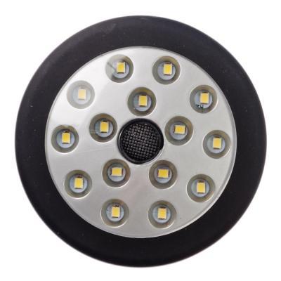 198-112 ЧИНГИСХАН Фонарь подвесной 15 SMD LED, 3хАА, пластик, диам. 8 см