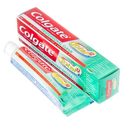 981-029 Зубная паста COLGATE Total 12 Профессиональная чистка, 50мл, 188189253