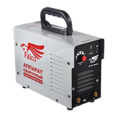696-007 FALCO Инвертор сварочный IW-130 220В, 10-130А, электроды 1,6-3,2 мм,