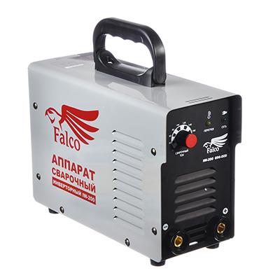 696-009 FALCO Инвертор сварочный IW-200 220В, 10-200А, электроды 1,6-4,0 мм,