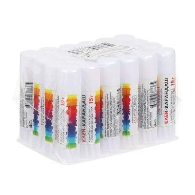 526-510 Клей карандаш 15 гр, на основе PVA