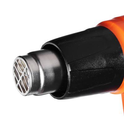 646-304 ЕРМАК Фен технич. ФТ-2000-КР, 2000 Вт, (50C°-600C°,250-500 л/мин); плавн рег.темп, кейс+н-р насадок