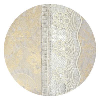 479-189 VETTA Скатерть виниловая на фланелевой основе с ажурной каймой, 110x140см, STL004