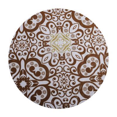 479-206 Скатерть на стол виниловая, клеенка с ажурной каймой, 152x228см, VETTA