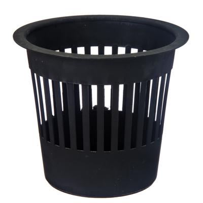 407-041 Корзина для мусора, пластик, d28x25см, темная