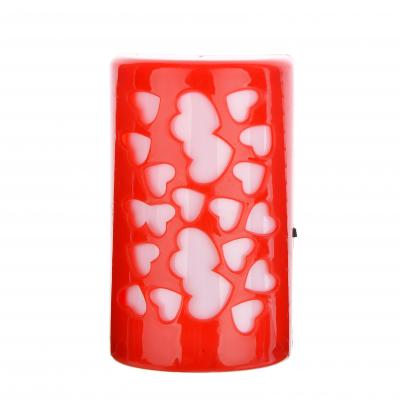 417-037 Светильник в розетку 1Вт, 220В, 10см, пластик, 2 дизайна, 4 цвета