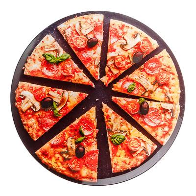 """877-563 Блюдо 35см, стекло, """"Пицца"""""""