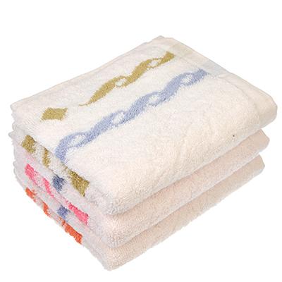 492-013 Полотенце для рук махровое, хлопок, 33x75см, белое